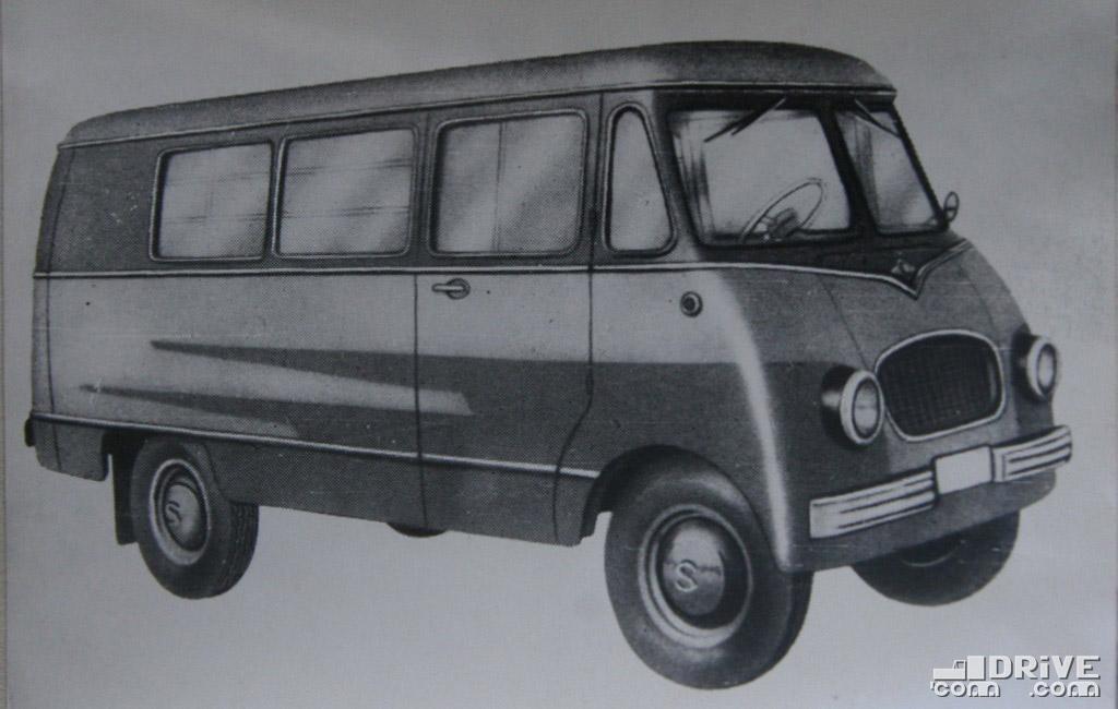"""Рисунок 79. Грузопассажирский фургон """"Ньиса-501Т"""""""