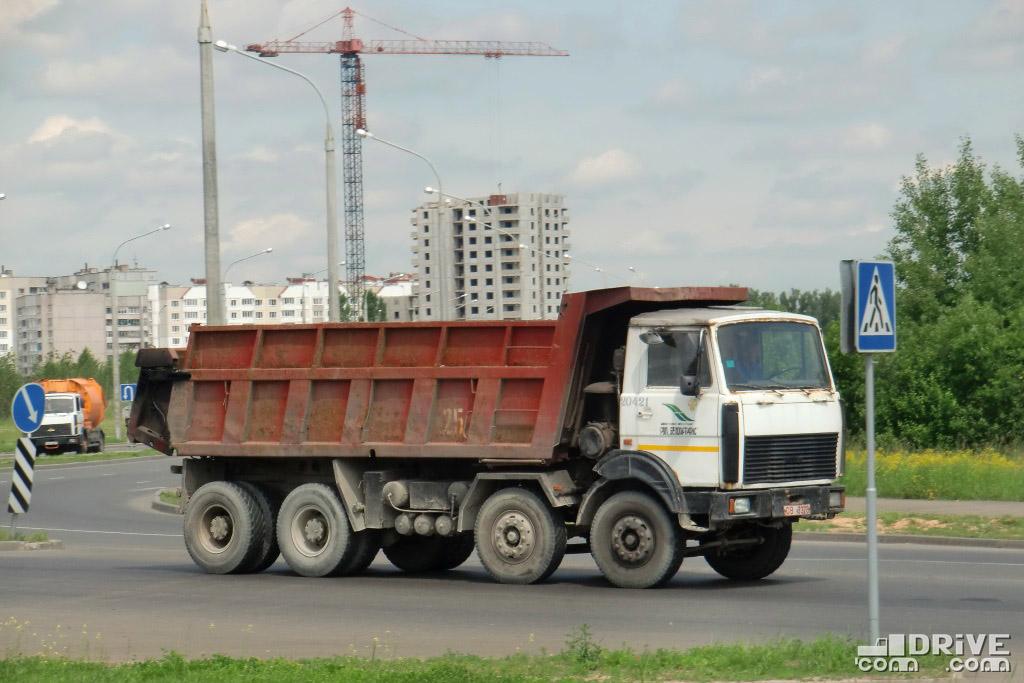 Самосвал МЗКТ-65158-421-01. Минск. 09/06/2010