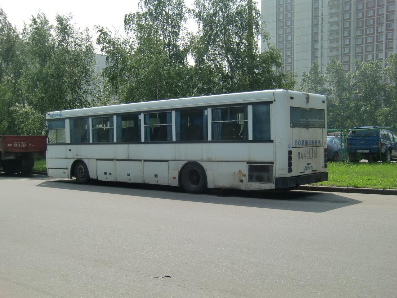 За 10 лет эксплуатации автобус сохранил родную окраску