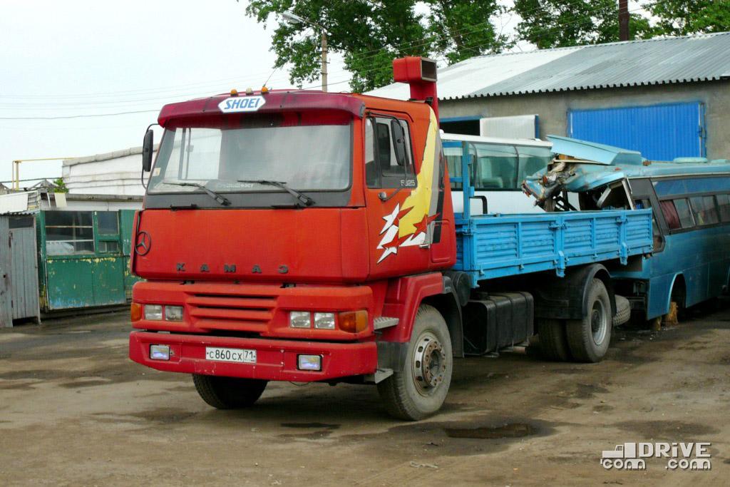 КАМАЗ-5325 с кабиной SISU вовсе не самопал, а заводская попытка изменить неизменное