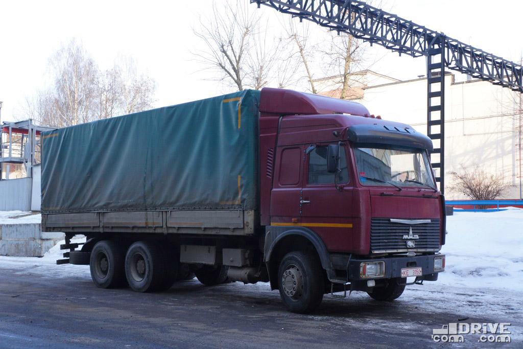 МАЗ-6303 с кабиной увеличенной высоты. МАЗ. 05/03/2013