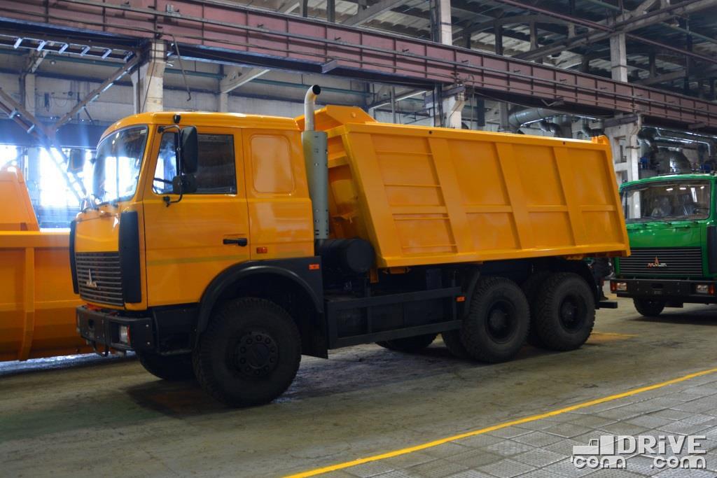 МАЗ-5516 не забыт ни разу - есть спрос, будет и продукт