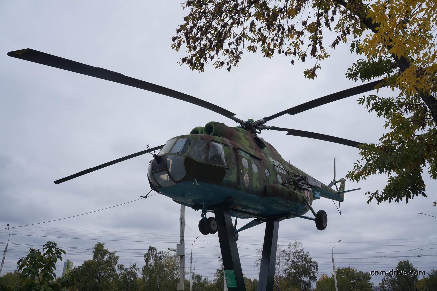 МИ-8 - единственная машина в экспозиции, призванная летать