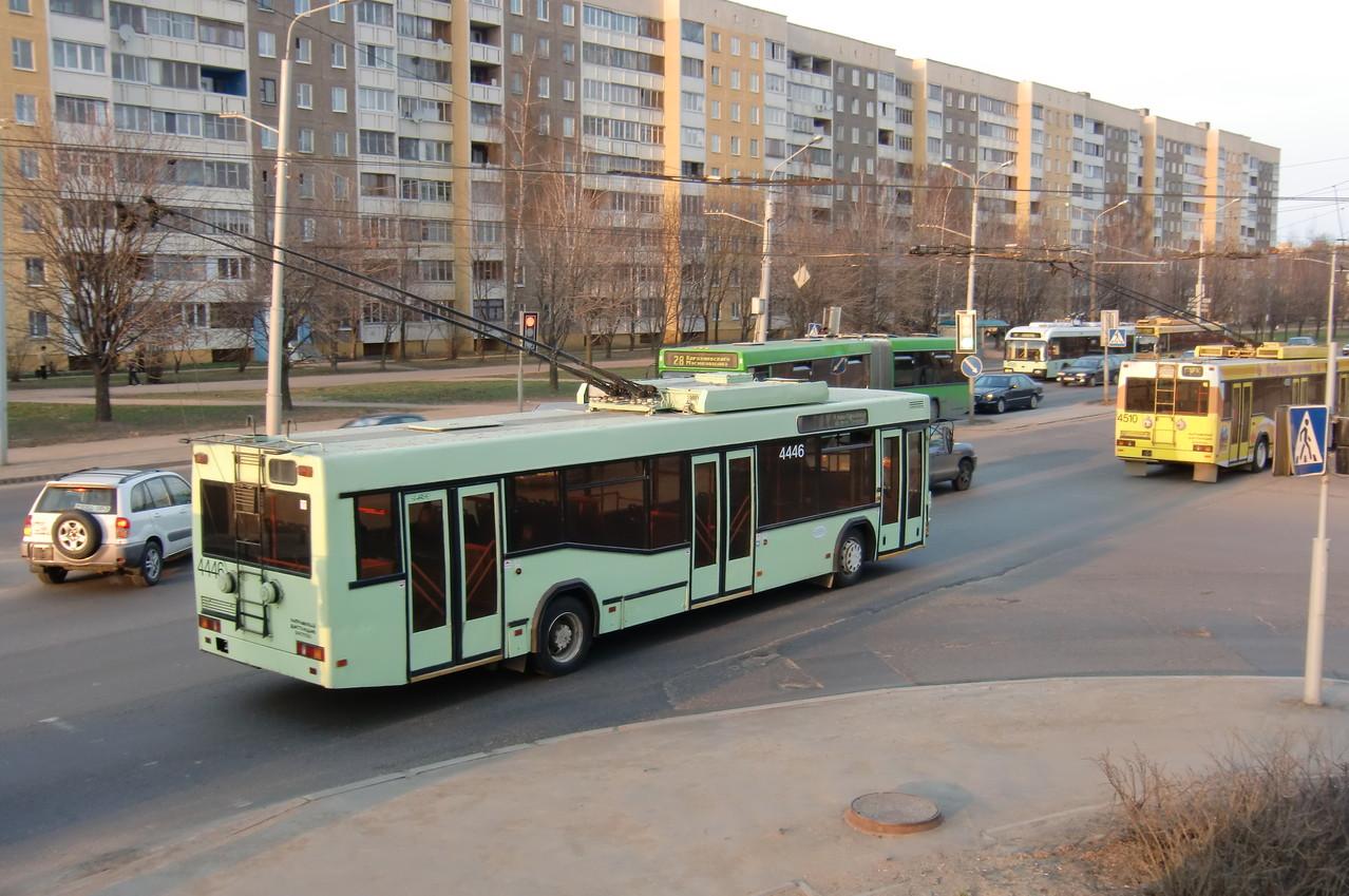 Троллейбус МАЗ-103Т. Зав.№003. 07/04/2010