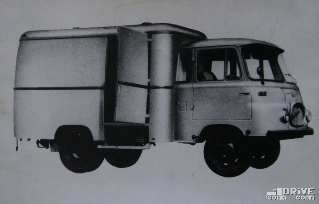 "Рисунок 44. Автомобиль-фургон ""ЛО 2500 КФ/КО"""