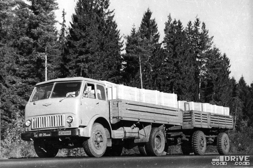 МАЗ-500 с прицепом МАЗ-521З