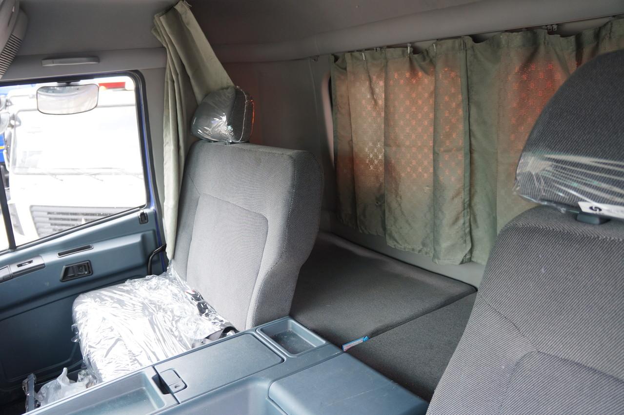 Полуторное пассажирское сиденье - редкость для самосвалов
