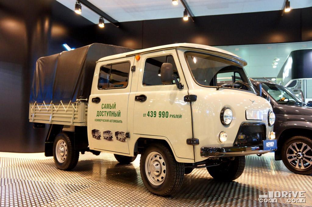 УАЗ-3909 - продажи в I квартале  1815 ед. (-10,6%)