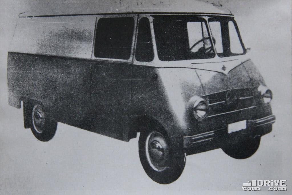 "Рисунок 76. Фургон ""Ньиса-501Ф"""
