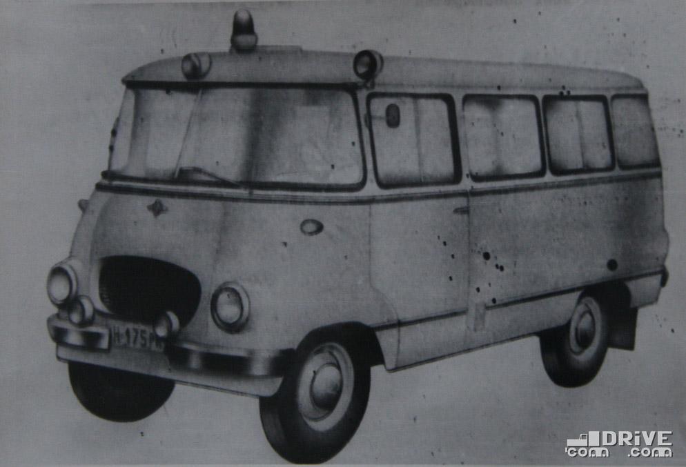 """Рисунок 77. Санитарный фургон """"Ньиса-501С"""""""