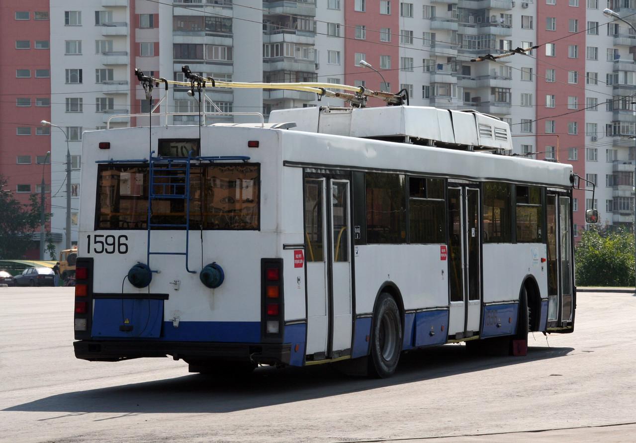 В настоящее время все машины, кроме музейного экземпляра списаны. Фото Максима Шелепенкова. 15.08.2007