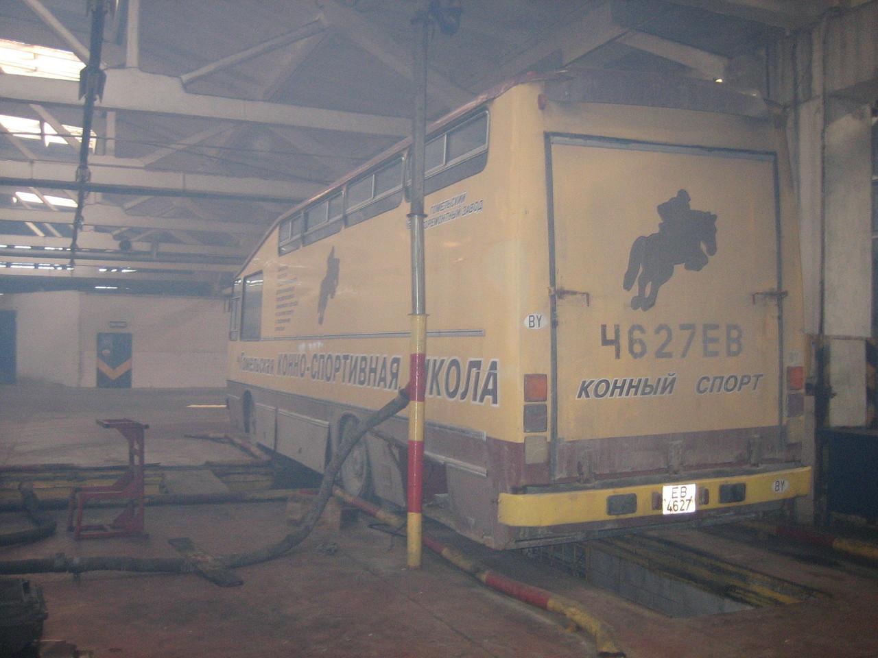 Обратите внимание на мутность кадра - это дым в ремзоне АП-7 во время утреннего запуска