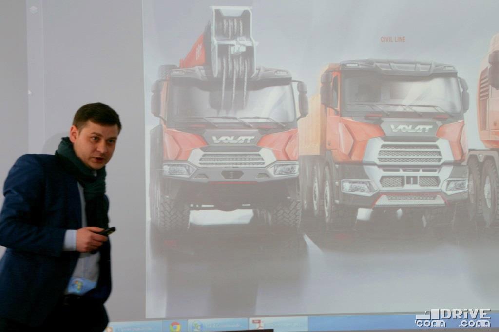 Андрей Заболотный во время презентации своих разработок