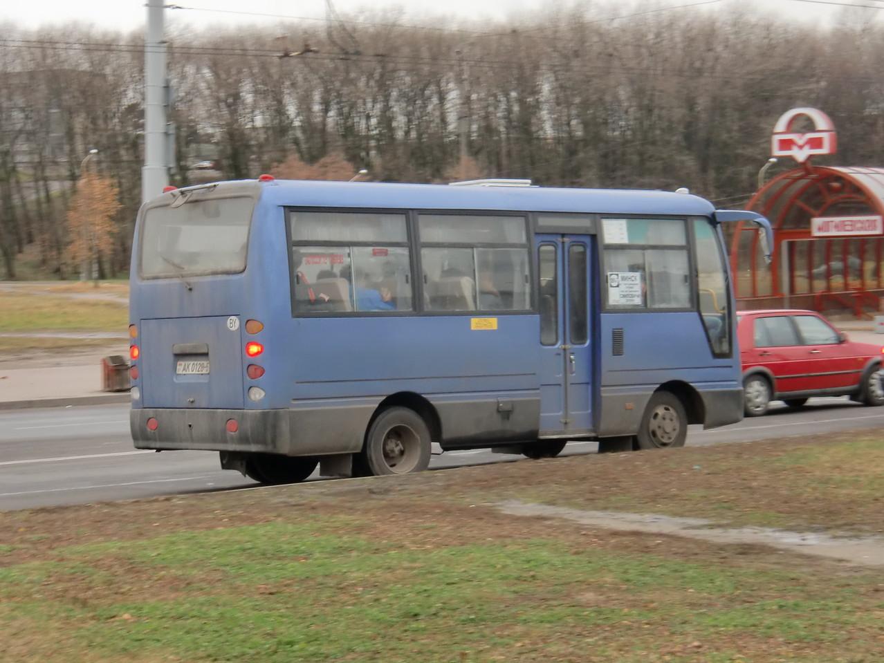 """""""Чистокровные китайцы"""" - большая редкость для Беларуси ввиду жесткой политики в сфере безопасности пассажирских перевозок"""