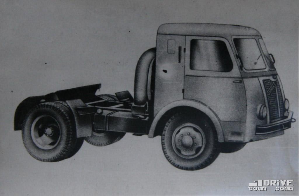 Рисунок 73. Седельный тягач Стар-С27 предназначен для транспортировки полуприцепов общим весом до 8500 кг