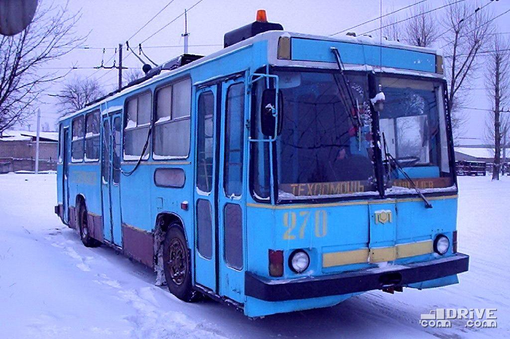 Укороченный Киев-11 в роли техпомощи работал в Могилеве до 2004 года