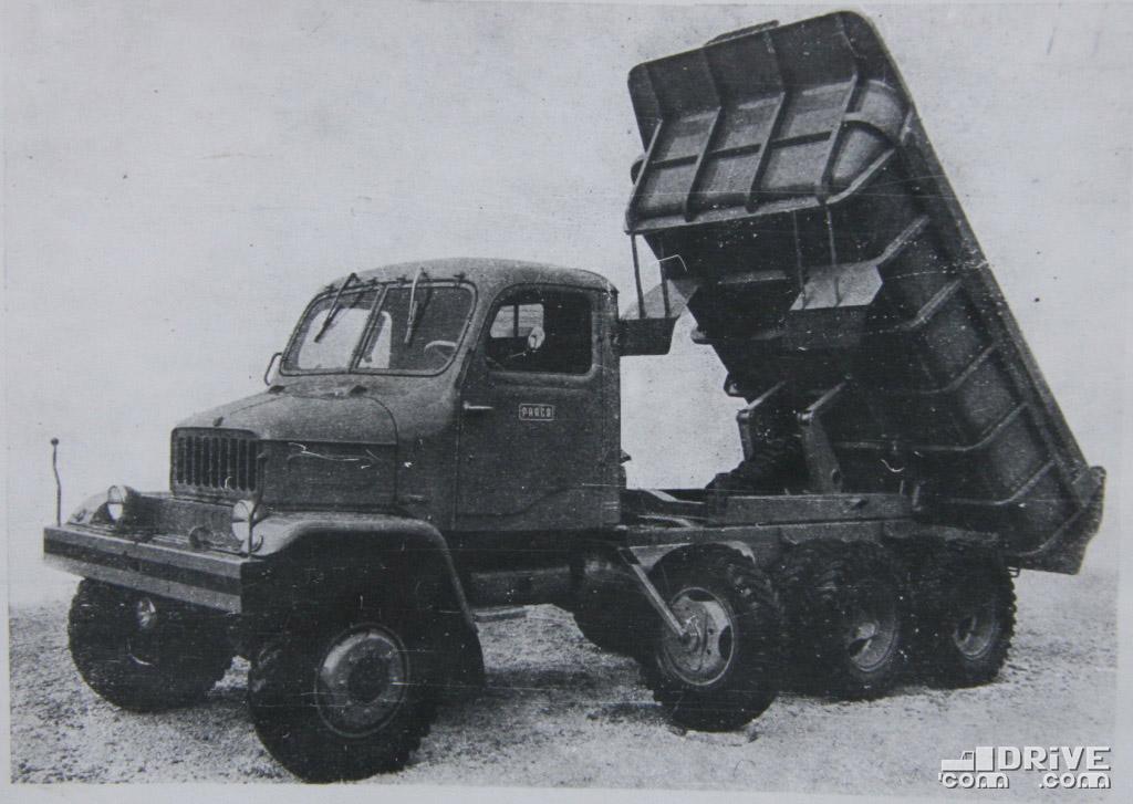 """Рисунок 4. Самосвал """"Прага В3С"""""""