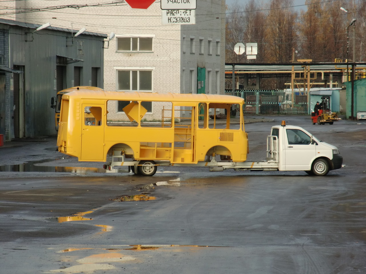 Транспортер универсален. Возит короткие кузова ПАЗ-3205