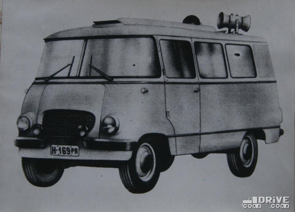 """Рисунок 81. Автобус """"Ньиса Н-63"""" предназначен для организации отдыха в выходные или праздничные дни. Автомобиль оборудован кинокамерой, киноэкраном для дневного и для ночного проекцирования, радиоаппаратурой"""
