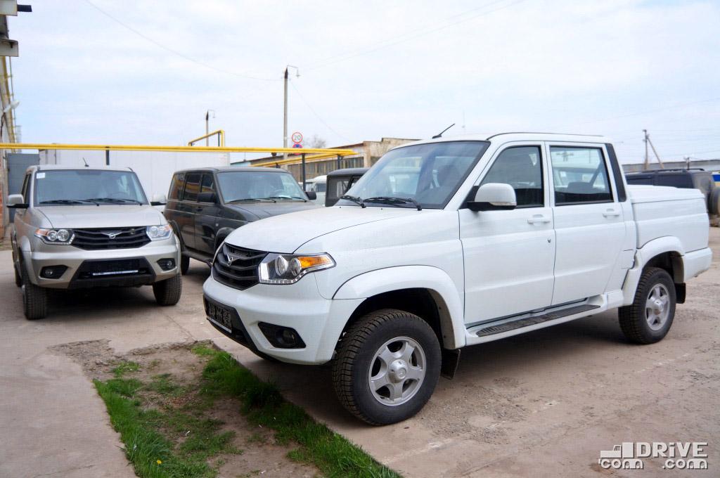 УАЗ Пикап - продано 732 ед. (-15%)