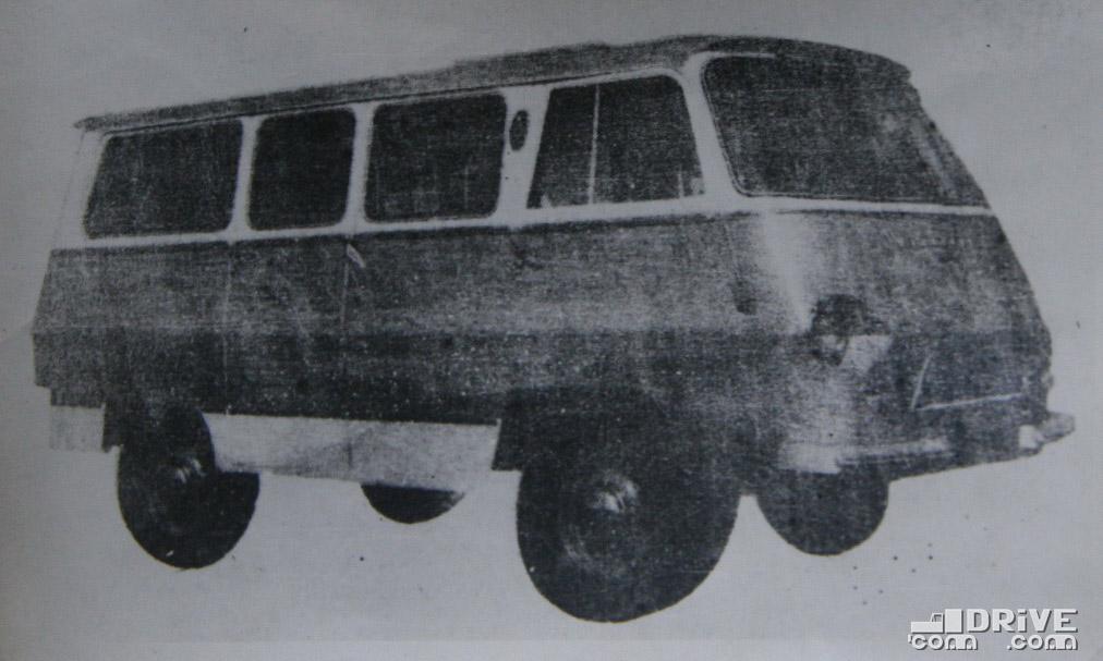 Рисунок 94. Микроавтобус Т.В-5-М