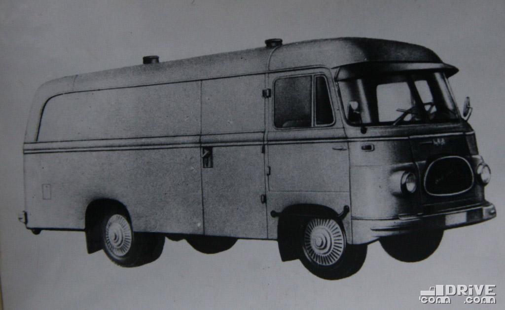 "Рисунок 45. Авто-фургон ""ЛО 2500 ФР/К"""