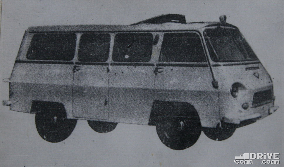 Рисунок 93. Санитарный автофургон Т.В-5-С