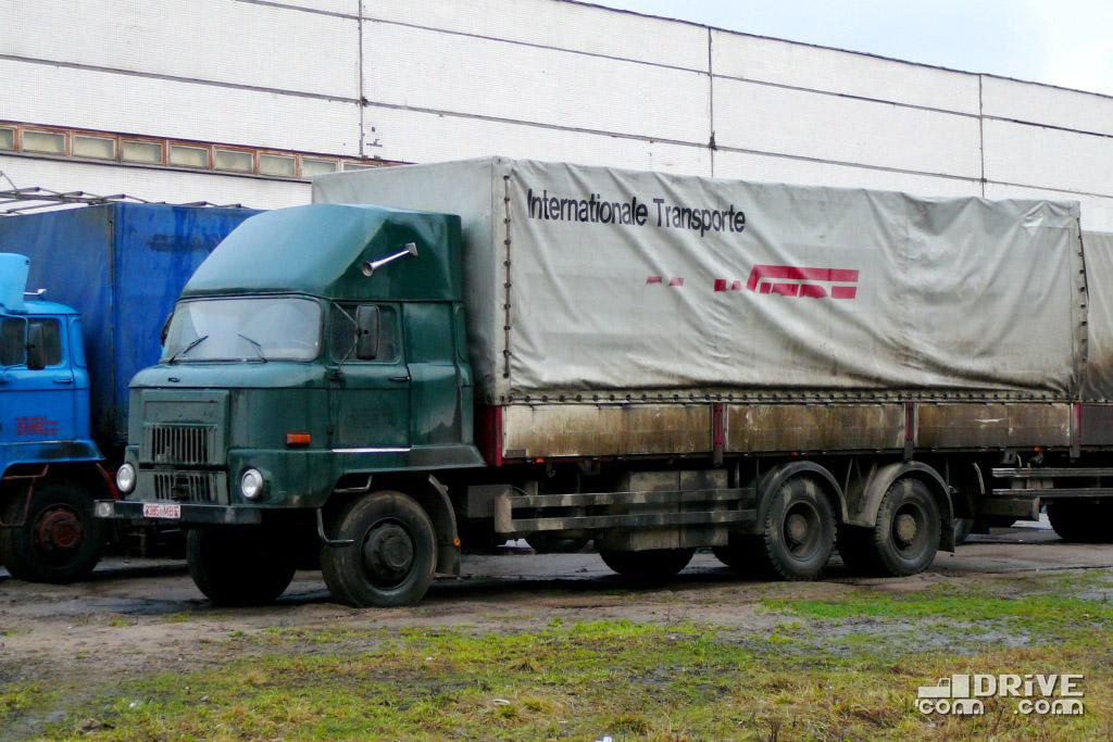 Трехосный грузовик концерна IFA - создан белорусскими умельцами