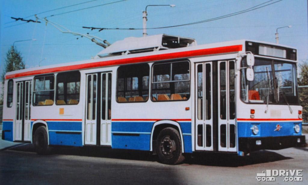ЛиАЗ-5256Т (1984 г.) - разработка Всесоюзного конструкторско-экспериментального института автобусостроения