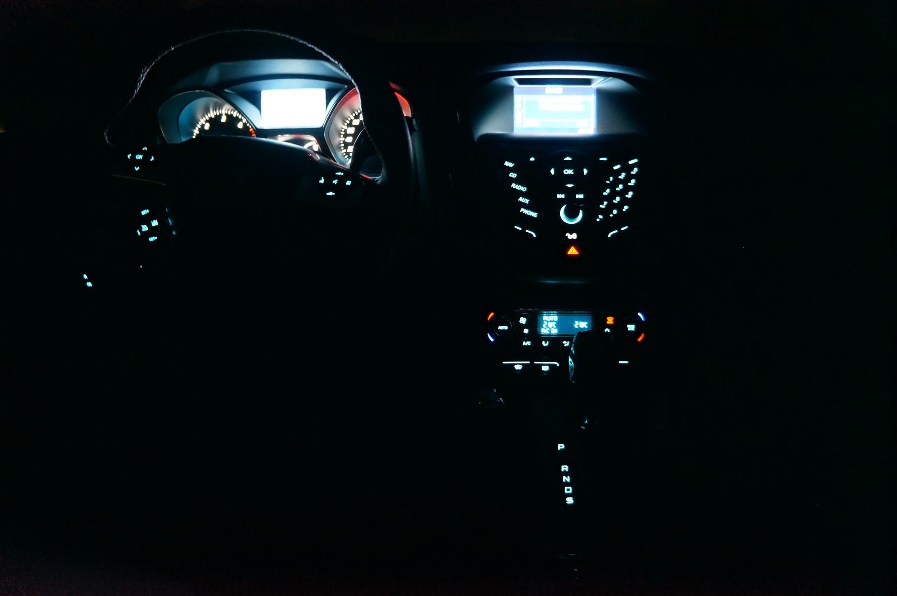 Подсветка передней панели просто обалденная