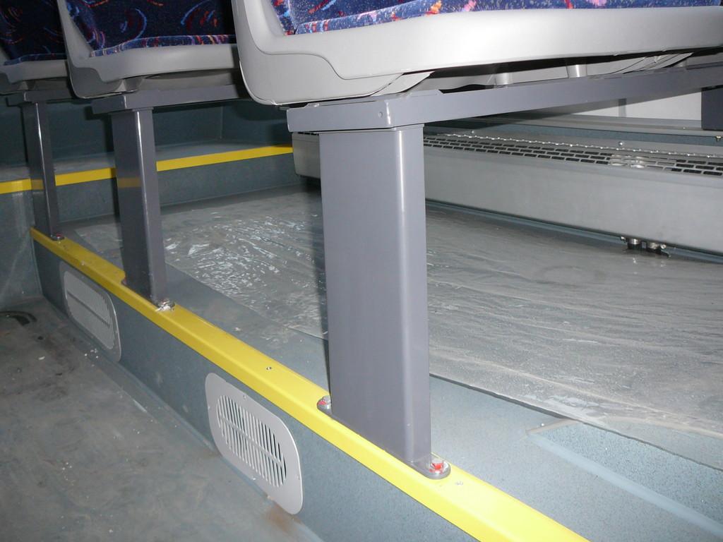 Подиум не стишком высокий и тоже используется под технические нужды