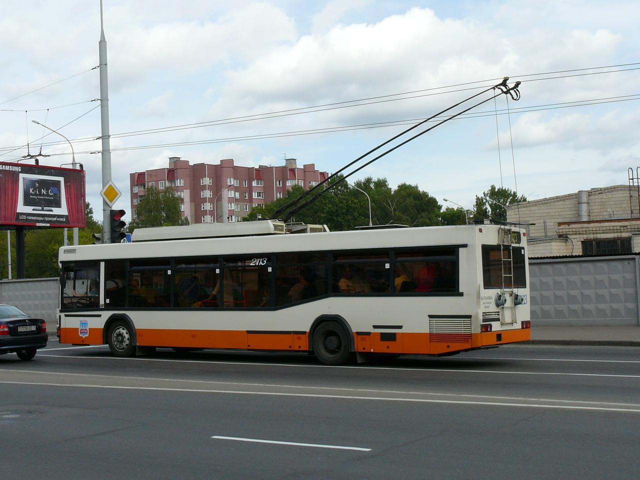 Троллейбус МАЗ-103Т. Зав.№143. 18/08/2008