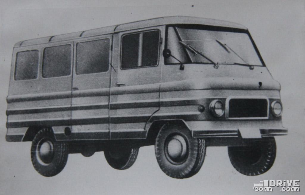 Рисунок 74. Автомобиль-фургон Жук А05