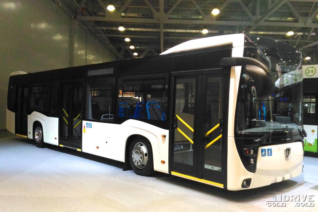 Городской низкопольный автобус НефАЗ 5299-40-52