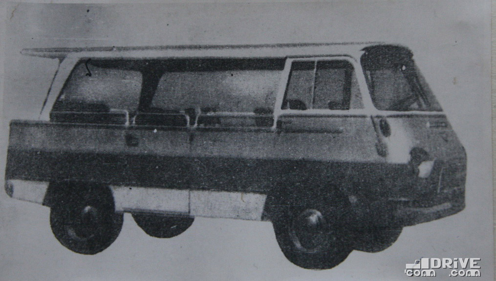 Рисунок 95. Прогулочный микроавтобус Т.В-4-Л