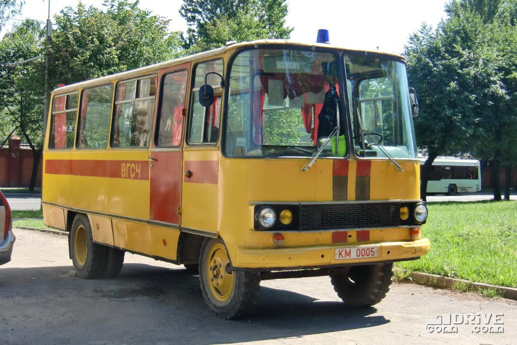 ВГСЧ 53Г1, несмотря на сходство с другими автобусами на шасси ГАЗ-53А, является самобытной во всех отношениях конструкцией