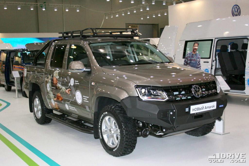 Volkswagen Amarok - продано 135 ед. (+16%)