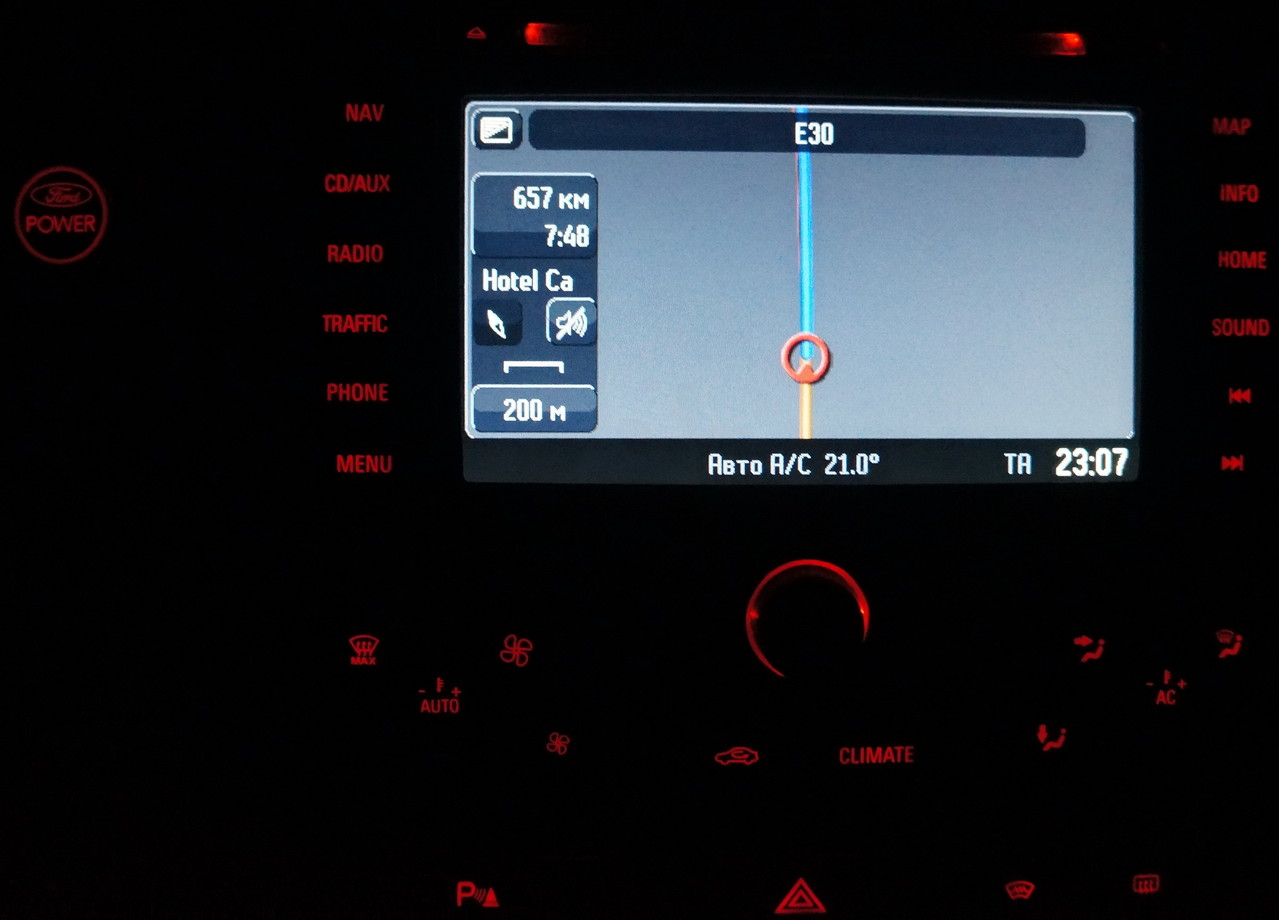 В Беларуси навигатор показывает только основную трассу