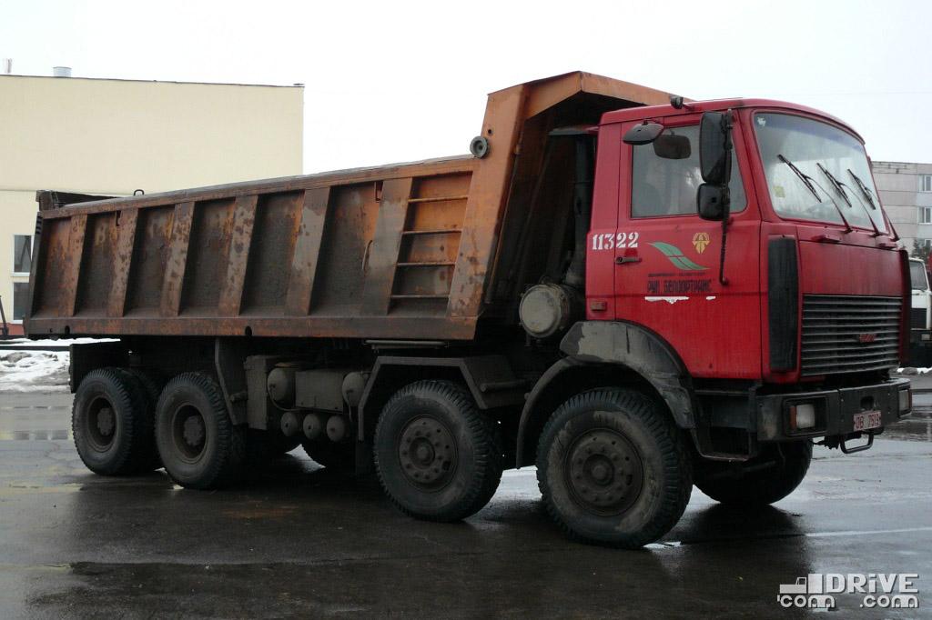 Самосвал МЗКТ-65158-421-02. Минск. 09/02/2009