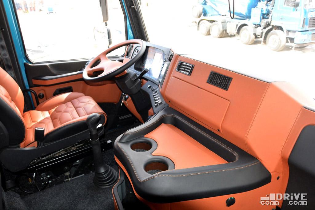 Сортиментовоз AGW44M AGR-6 на шасси МАЗ-6312 - кабина модели 5440