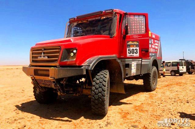 МАЗ-6440RR на Morocco Desert Challenge-2019