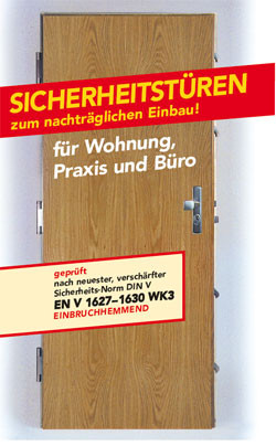 Sicherheitstüren  Sicherheitstür - Sicherheits-Center Boshammer GmbH