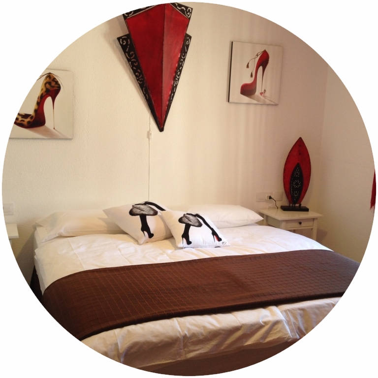 "Das Superior Zimmer ""Christian Louboutin"""