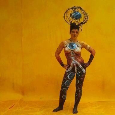 World Bodypainting Festival 2012, Foto: Gesine M.