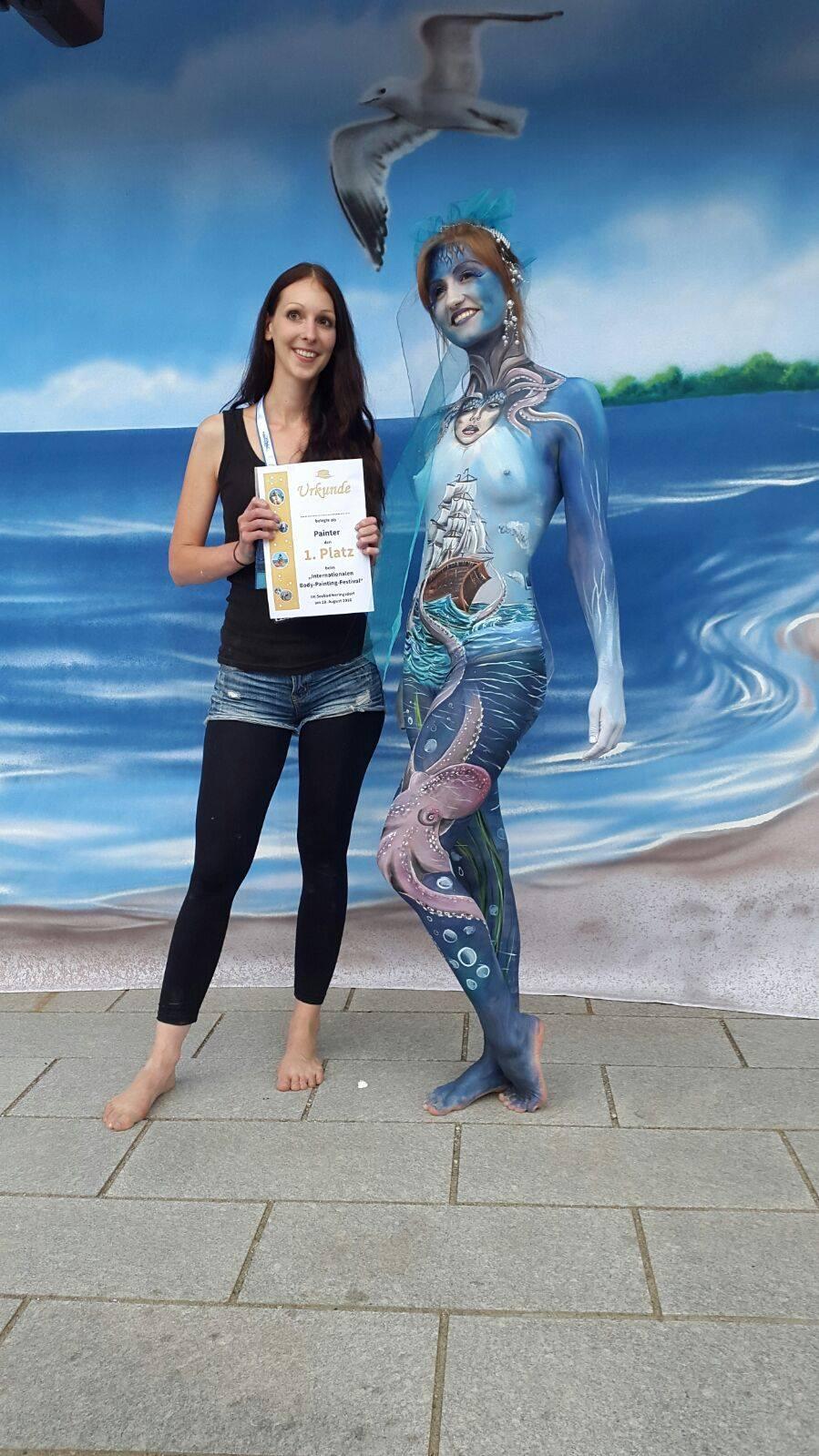 Heringsdorfer Bodypainting festival 2016, 1. place