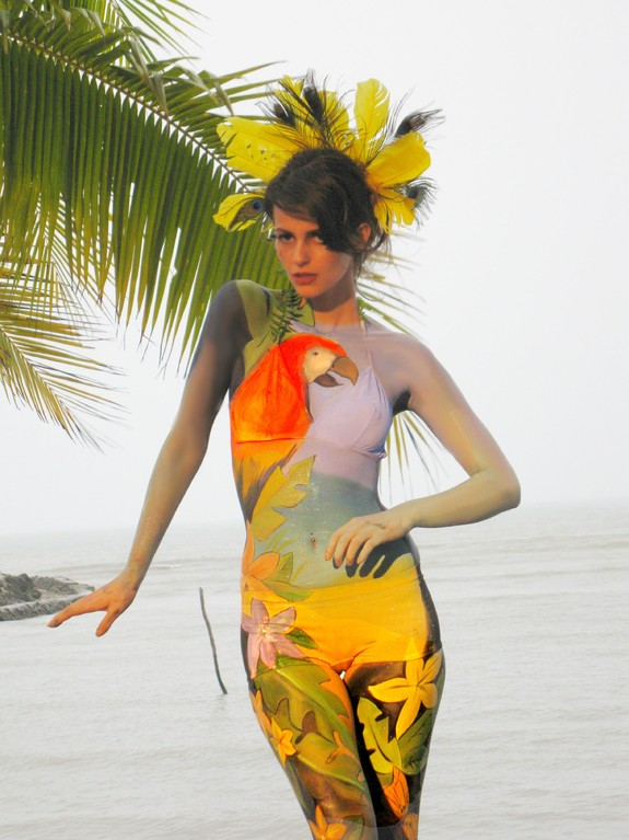 Thailand Bodypainting Festival 2011, Foto: Gesine M.