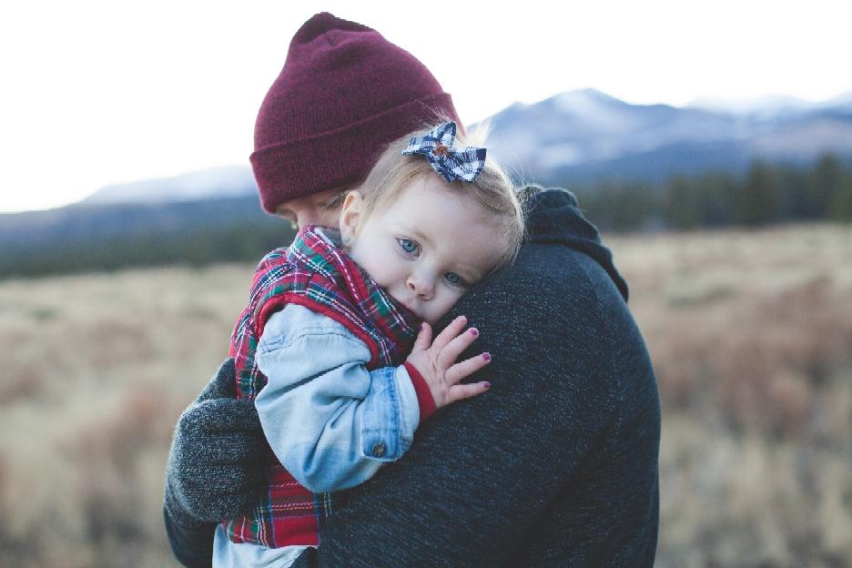 Kinder brauchen viel Nähe