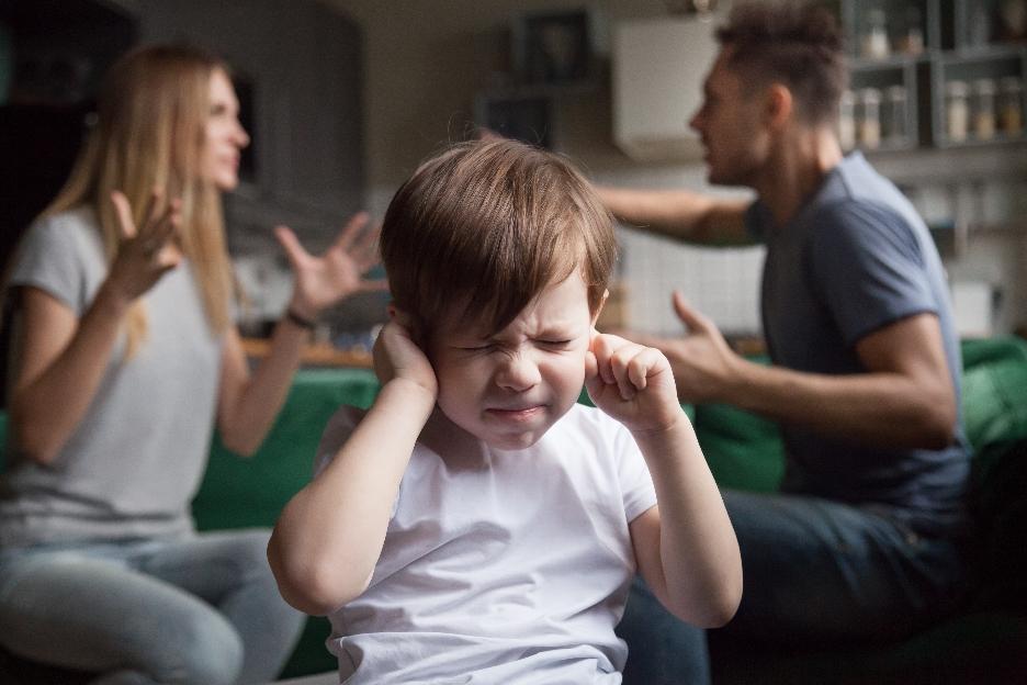 Wenn Eltern sich ständig streiten, leidet die ganze Familie