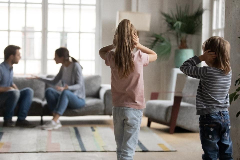 Wenn Eltern streiten, leider die ganze Familie