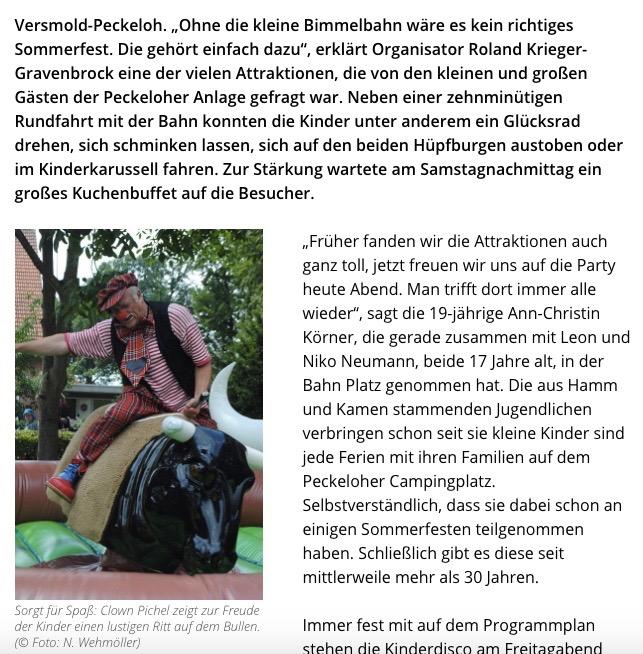 Haller Kreisblatt 03.08.2016